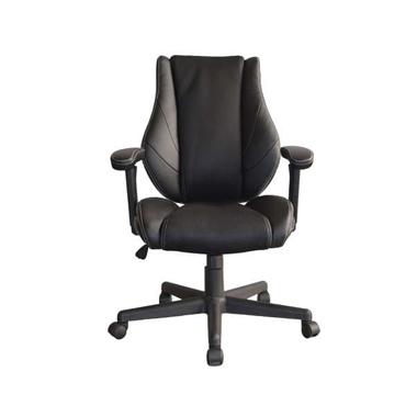 Chaise dactylo noire