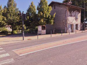Chalet face mairie de Crolles