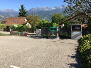 Chalet parking Beriot, St-Ismier